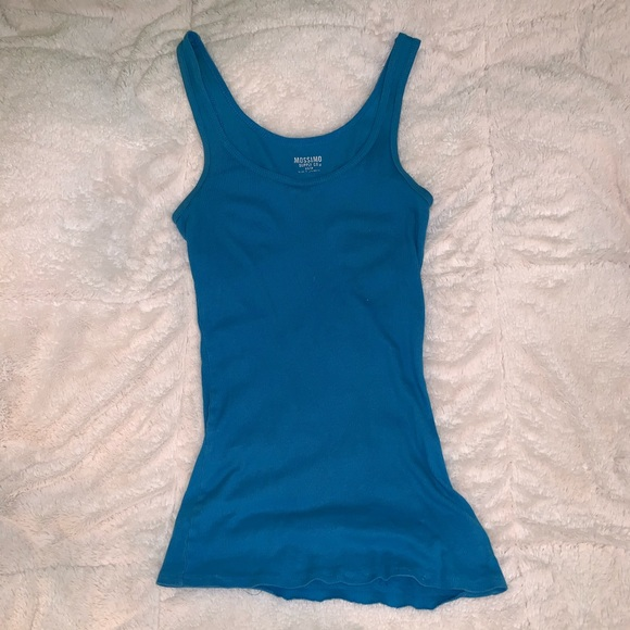 Mossimo Supply Co. Tops - Blue Tank Top